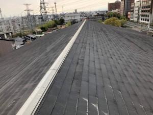 屋根改修作業前