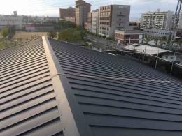 屋根改修工事完了