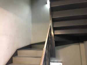 施工前階段塗装